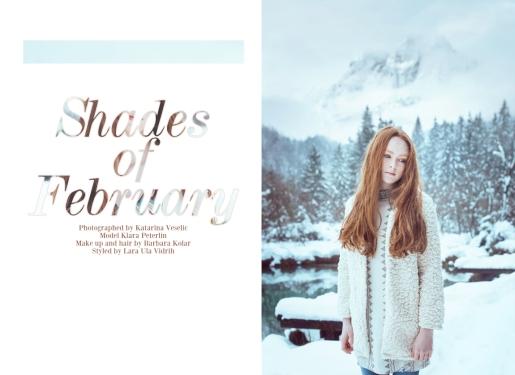 Shades of February