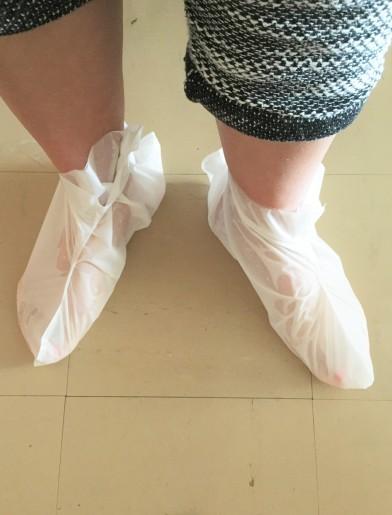 Missha foot mask